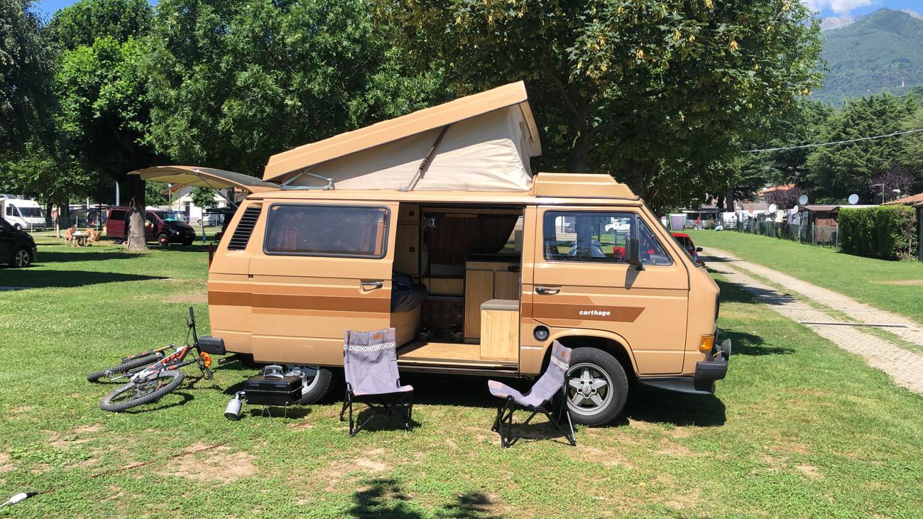 Be-Vanlife al Camping North Wind Domaso